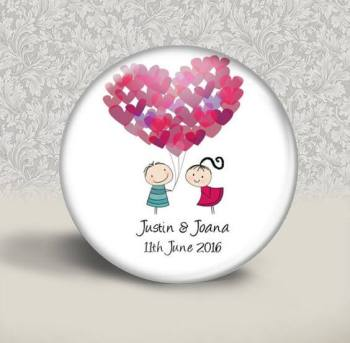 Personalised Wedding Badges-0