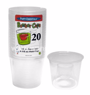 Bomber Shots Cups 4oz - 20PC-0