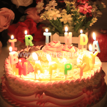 Happy Brithday Candle-0