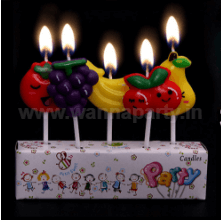 Fruits Candle - 5PC-0