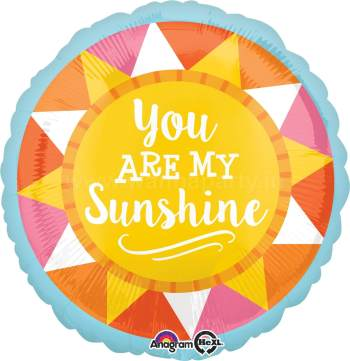 "You Are My SunShine Balloon 18""-0"