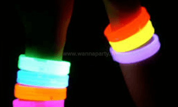 Glow In The Dark Triple Wide Bracelets-0