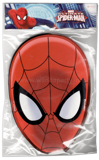 Amazing Spiderman Face Masks - 10PC-0