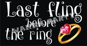Last Fling Before The Ring Photo Prop-0