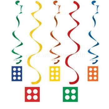 Lego Block Party Danglers - 5PC-0