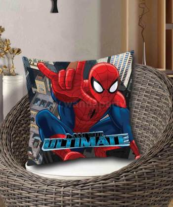 Spider Man Assorted Cushion Cover w/Cushion (40CM X 40CM)-0