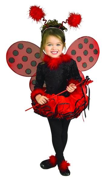 Deluxe Ladybug Kids Costume-0