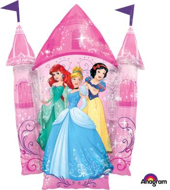 Princess Castle Balloons P38-0