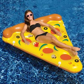Pizza Inflatable Pool Float - 6FT X 5FT-0