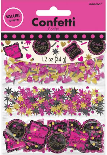 Fabulous Birthday Confetti 1.2Oz-0
