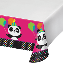 "Panda-Monium Tablecover 54x102""-0"
