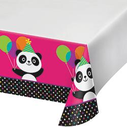 "Panda-Monium Tablecover 54x102""-0"