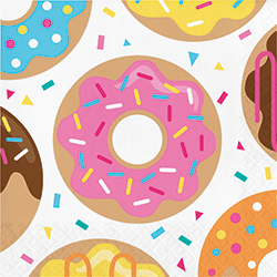 Donut Time Paper Napkins - 16PC-0