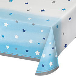 "Twinkle Twinkle Little Star Boy Tablecover - 54 x102""-0"