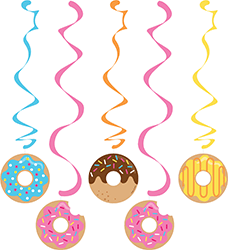 Donut Time Danglers - 5PC-0