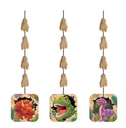 Dinosaur Blast Hanging Cutouts - 5PC-0