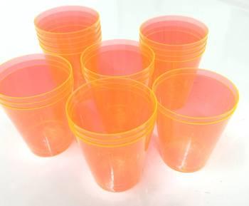 Shot Glasses Orange - 20PC-0