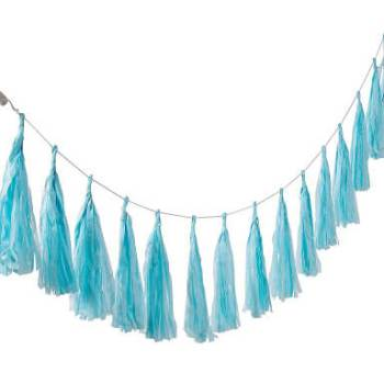 Blue Tassle Garland - 5PC-0