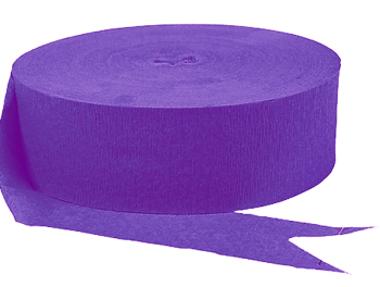 Purple Streamers - 4PC-0