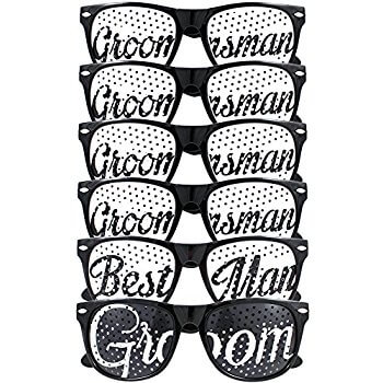 Groomsmen Glasses - 6PC-0