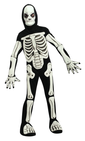 Skeleton Kids Costume-0