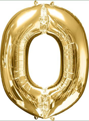 """40"""" Alphabet O Balloon-0"""