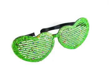 Heart Glitter Giant Shades-0