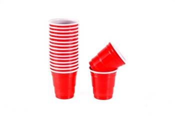 Red Shot Glasses - 30PC-0