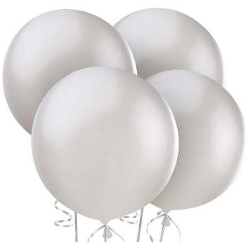 "36"" Silver Bladder Balloons - 1PC-0"