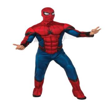 Adult Regular Spiderman Costume-0