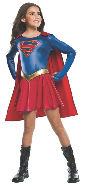 Kids Supergirl Costume Medium-0