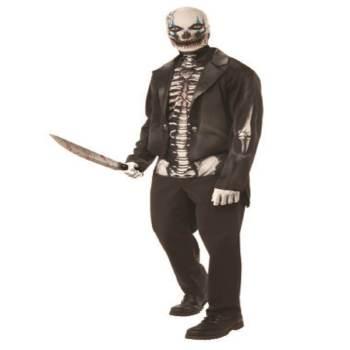 Adult Skeleton Man Costume-0