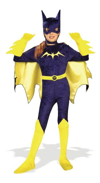 Kids Batgirl Costume - Gotham Girls - Small-0