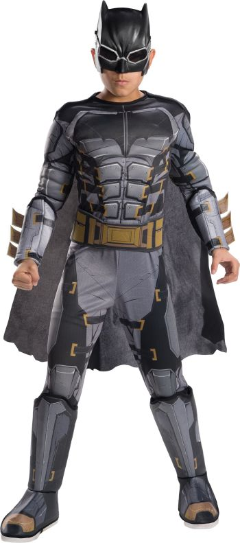 Kids Deluxe Tactical Batman Costume Large-0