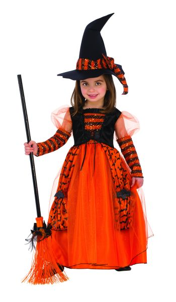 Kids Sparkle Witch Costume Small-0
