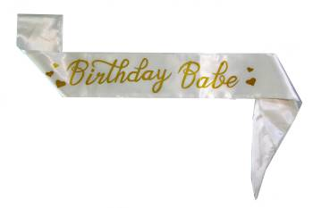 Birthday Babe Sash-0