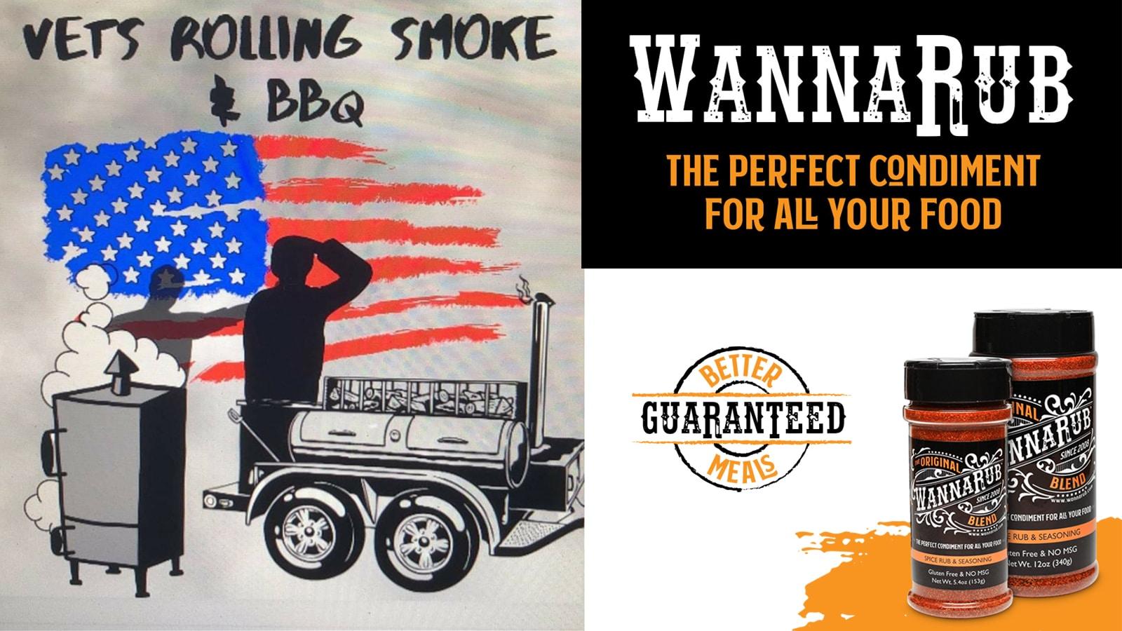 WannaRub Partners with Vets Rolling Smoke & BBQ Non-Profit