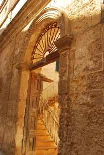 detail van één van de palazzi