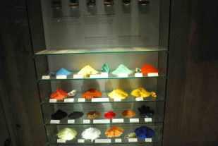 de gebruikte kleurpigmenten