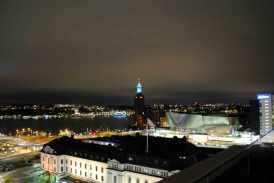 de toren van het Stadhuset