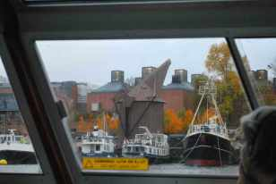 de oude scheepskranen