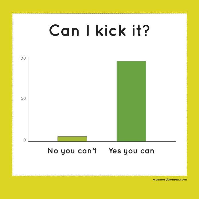Can I kick it?