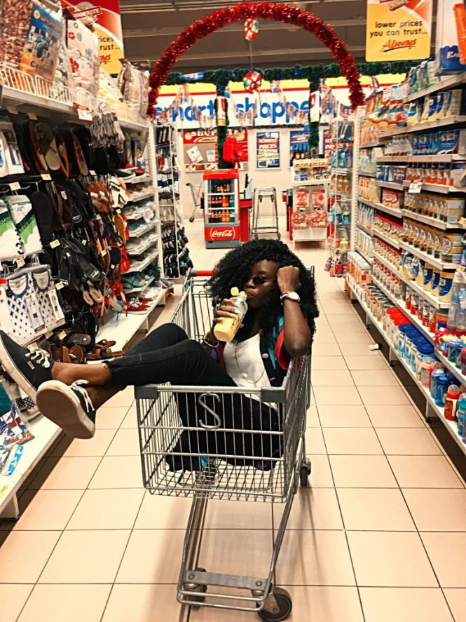 grocery store photoshoot nigeria