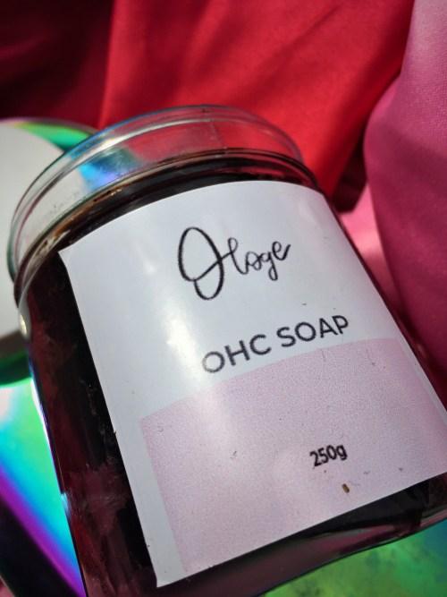 Ologe Skincare African Black Soap