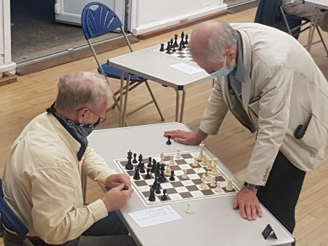 Terry considers his next move against David Rawlings