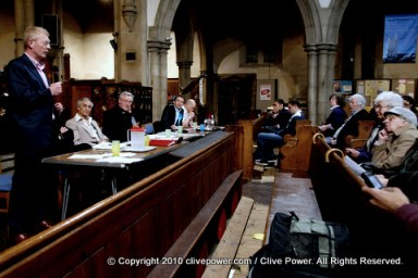 Leyton and Wanstead hustings - copright ClivePower.com