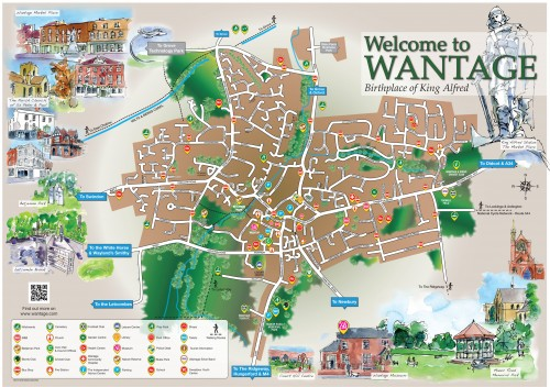 Wantage Map