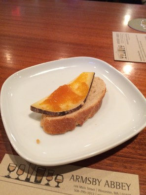 Bread and Cheese with Marmalade