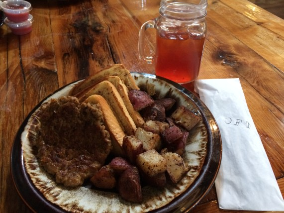 French Toast w/ Sausage and Home Fries