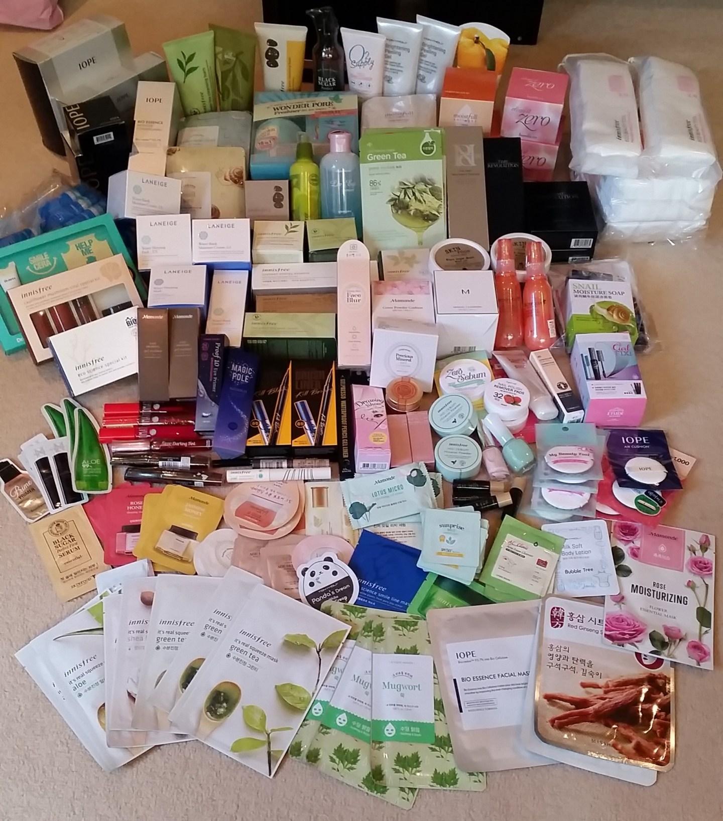 Korean Beauty haul!